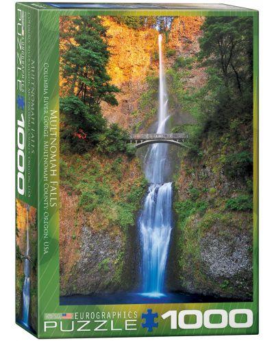 Puzzle Eurographics de 1000 piese – Cascada Multnomah in Oregon - 1
