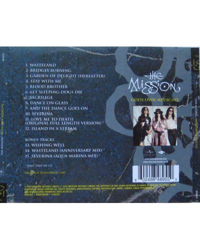 The Mission - God's Own Medicine (CD) - 2