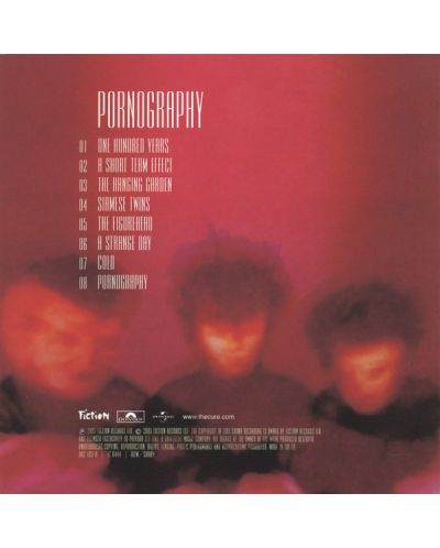 The Cure - Pornography (Remastered) - (CD) - 2