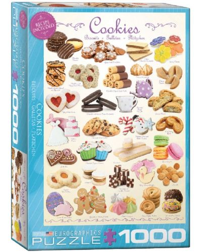 Puzzle Eurographics de 1000 piese – Biscuiti - 1