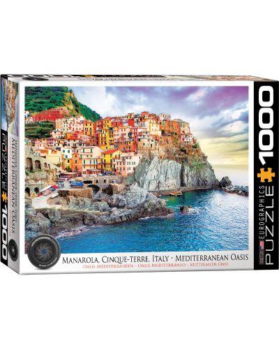 Puzzle Eurographics de 1000 piese – Cinque Tere, Italia - 1