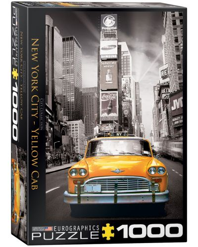 Puzzle Eurographics de 1000 piese – Taxi in New York - 1