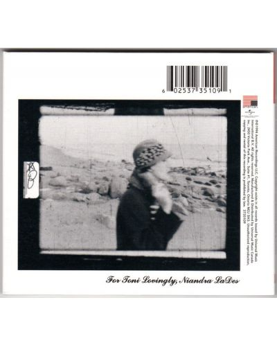 John Frusciante - Niandra LaDes and Usually Just A T-Shirt (CD) - 2