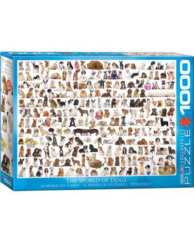 Puzzle Eurographics de 1000 piese – Lumea cateilor - 1