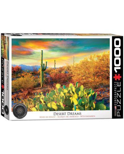 Puzzle Eurographics de 1000 piese – Culori in desert - 1