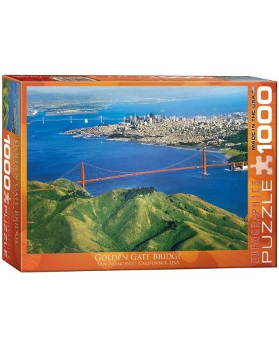 Puzzle Eurographics de 1000 piese – Golden Gate Bridge in California - 1