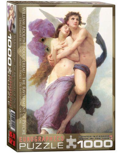 Puzzle Eurographics de 1000 piese - Rapirea Psycheei, William Adolphe Bouguereau - 1