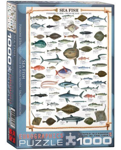 Puzzle Eurographics de 1000 piese – Peste marin - 1
