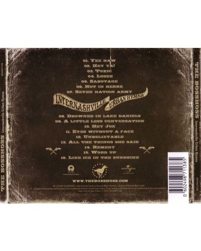 The Bosshoss - Internashville Urban Hymns - (CD) - 2
