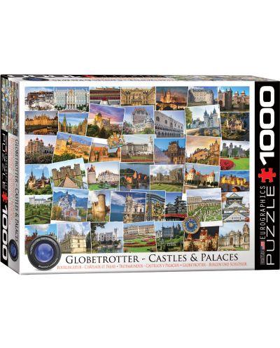 Puzzle Eurographics de 1000 piese – Calatorie la castelele si palatele din lume - 1