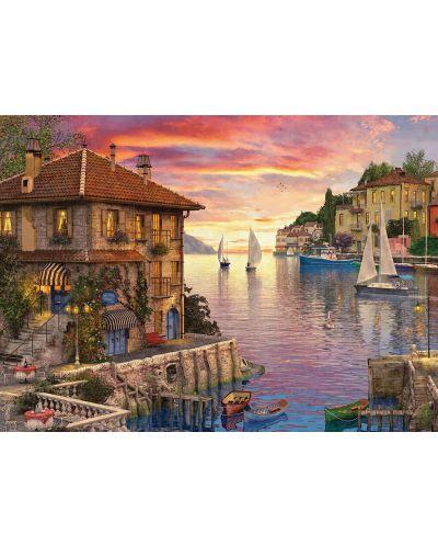 Puzzle Eurographics de 1000 piese - Port mediteranean, Dominic Davison - 2