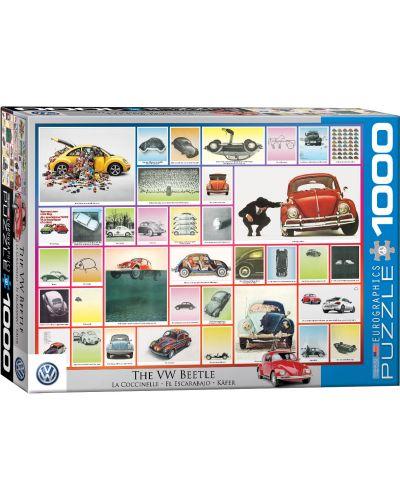 Puzzle Eurographics de 1000 piese – VW Beetle  - 1