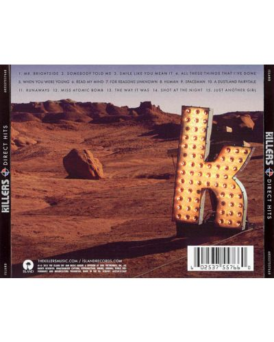 The Killers - Direct Hits (CD) - 2