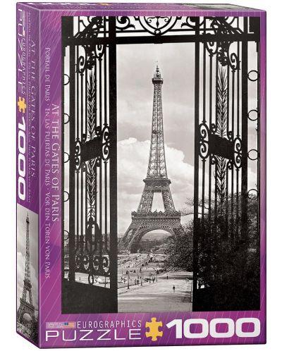 Puzzle Eurographics de 1000 piese – In fata portilor din Paris - 1