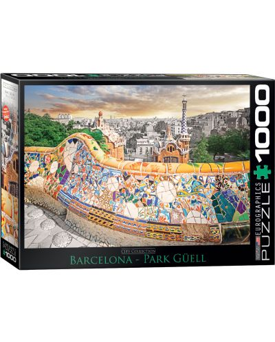 Puzzle Eurographics de 1000 piese – Barcelona - 1