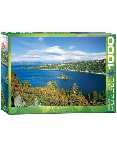 Puzzle Eurographics de 1000 piese – Emerald Bay, California - 1