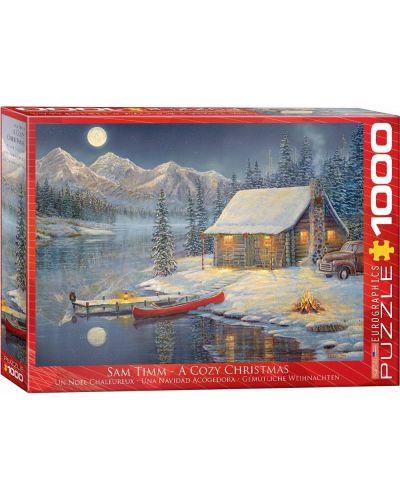 Puzzle Eurographics de 1000 piese – Poveste de iarna, Sam Tim - 1