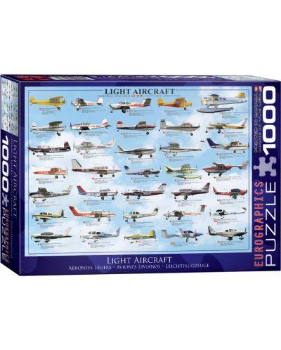 Puzzle Eurographics de 1000 piese – Aeronave usoare - 1
