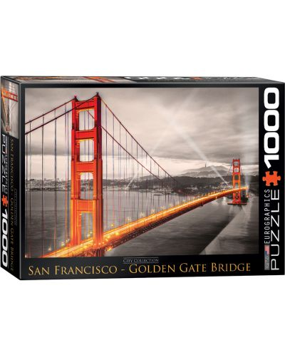 Puzzle Eurographics de 1000 piese – Podul Golden Gate, San Francisco - 1