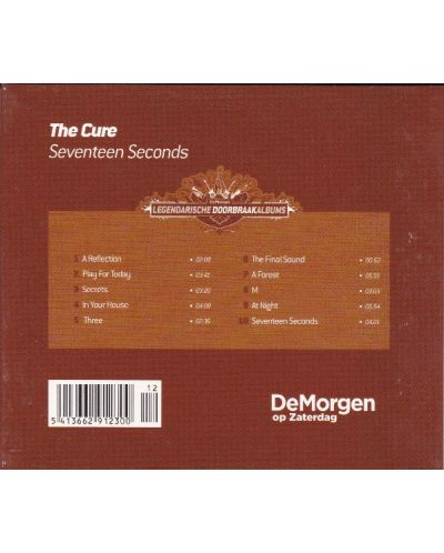 The Cure - Seventeen Seconds (Remastered) - (CD) - 2