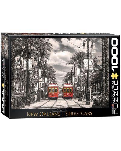 Puzzle Eurographics de 1000 piese – Tramvaiele din New Orleans - 1