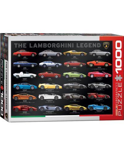 Puzzle Eurographics de 1000 piese – Legenda Lamborghini - 1