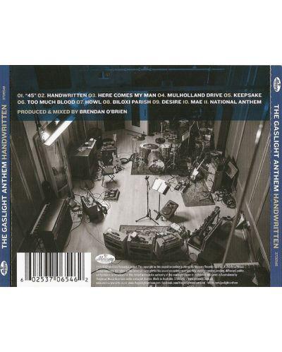 The Gaslight Anthem - Handwritten - (CD) - 2
