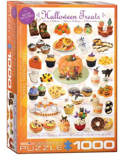 Puzzle Eurographics de 1000 piese – Dulciuri pentru Halloween - 1