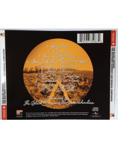 The Black Crowes - the Southern Harmony And Musical Companion - (CD) - 2