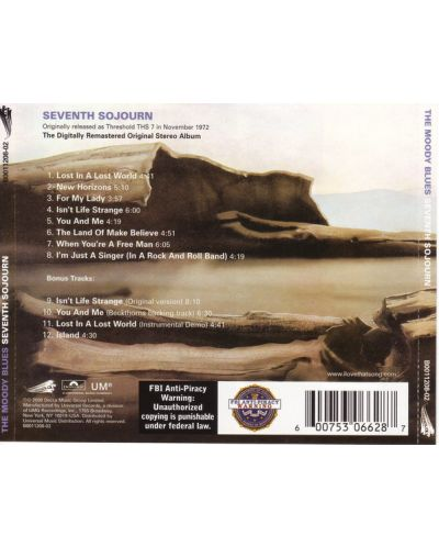 The Moody Blues - Seventh Sojourn (CD) - 2