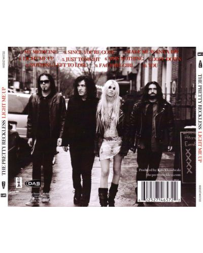 The Pretty Reckless - Light Me Up (CD) - 2
