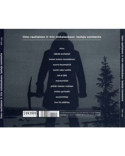 Timo Rautiainen & Trio Niskalaukaus - Lauluja Suomesta - (CD) - 2
