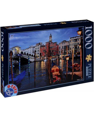 Puzzle D-Toys de 1000 piese - Venetia, Italia - 1