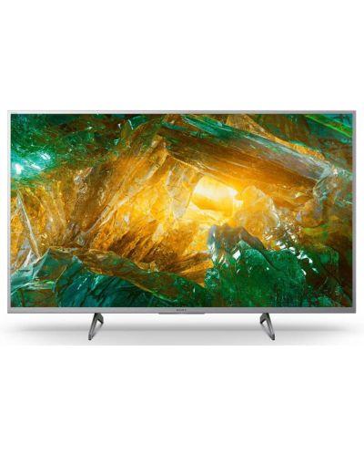 "Televizor smart Sony - KD-65XH8077, 65"", 4K, HDR, negru - 1"