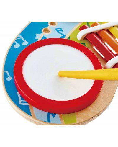 Masa muzicala pentru copii Hape - 5 instrumente muzicale, din lemn - 2