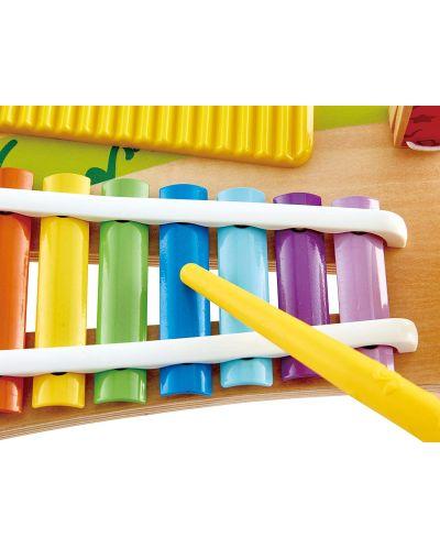 Masa muzicala pentru copii Hape - 5 instrumente muzicale, din lemn - 4