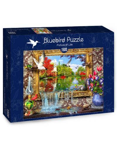 Puzzle Bluebird de 1500 piese - Poza vietii - 1
