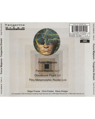 Tangerine Dream - Force Majeure - (CD) - 2