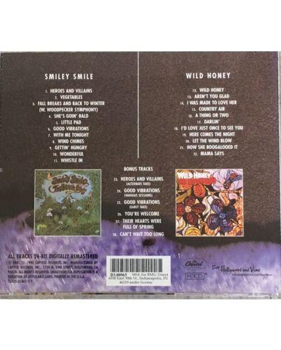 The BEACH BOYS - Smiley Smile/Wild Honey - (CD) - 2