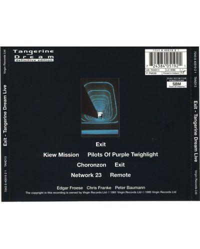 Tangerine Dream - Exit - (CD) - 2