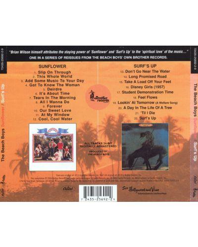 The BEACH BOYS - Sunflower/Surf's Up - (CD) - 2