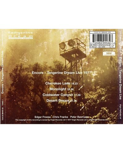 Tangerine Dream - Encore - (CD) - 2