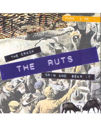 The Ruts - The Crack / Grin And Bear It (CD) - 1