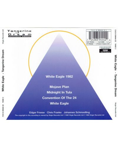 Tangerine Dream - White Eagle - (CD) - 2