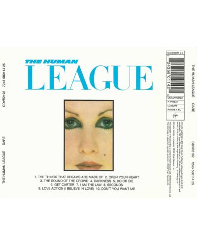 The Human League - DARE! (CD) - 2