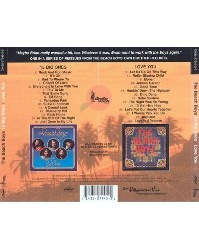 The BEACH BOYS - 15 Big Ones/Love You - (CD) - 2