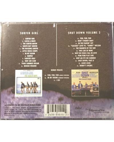 The BEACH BOYS - Surfer Girl/Shut Down Volume 2 - (CD) - 2