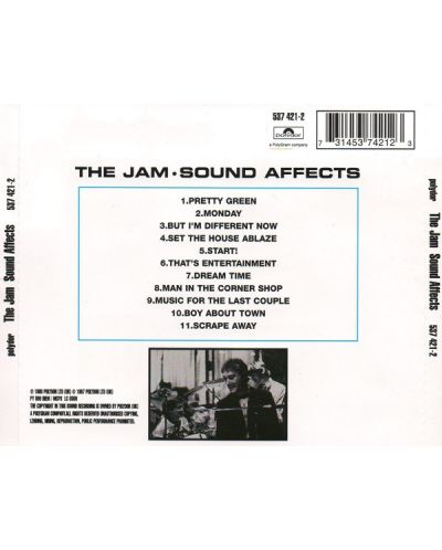 The Jam - Sound Affects (CD) - 2