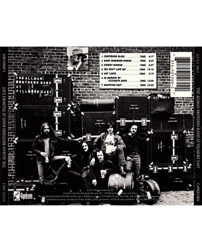 The Allman Brothers Band - the Allman Brothers Band At Fillmore East - (CD) - 2