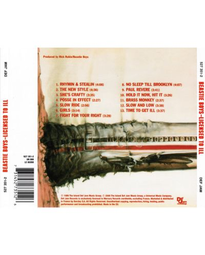 The Beastie BOYS - Licensed To Ill - (CD) - 2